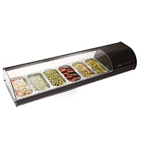 Refrigerated counters for sushi