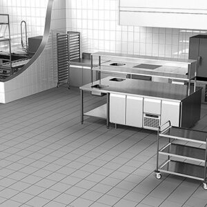 Stainless steel kitchen furniture